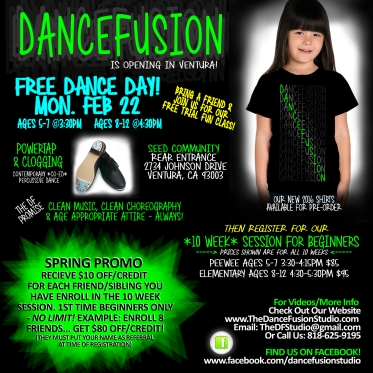 FLIER fun dance